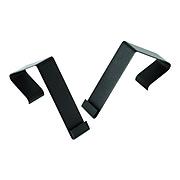 Quartet Matrix Metal Cubicle Hangers, Black 2/Set (MCH10)
