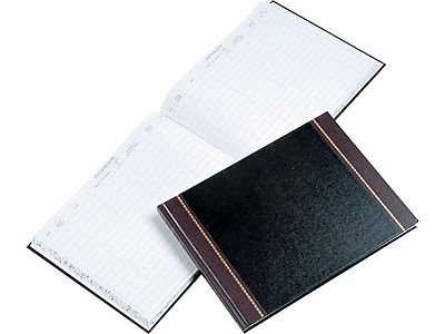 Wilson Jones Visitor Book, 208 Pages, Black (WS491)