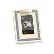 Southworth Foil Enhanced Parchment Certificates, Ivory, 15/Pack (CT1R)