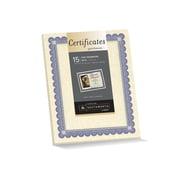 Southworth Foil Enhanced Parchment Certificates, Ivory, 15/Pack (CT1R)