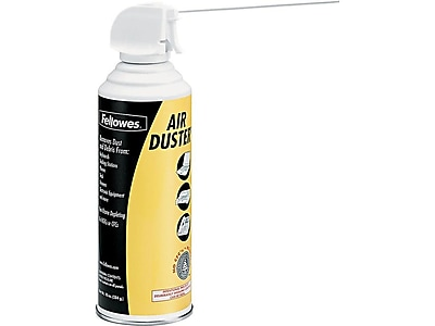 Fellowes Pressurized 152A Air Duster, Bitterant (9963101)