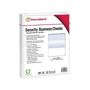 "DocuGard Standard 8.5""W x 11""H Security Check on Top, Blue, 500/Ream, 5 Ream/Carton (04501)"