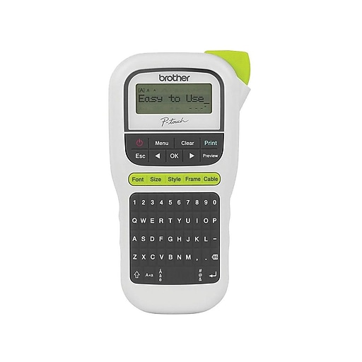 Brother P-Touch PT-H110 Easy Handheld Label Maker At Staples