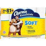 Charmin Essentials Soft 2-Ply Standard Toilet Paper, 200 Sheets/Roll, 36 Rolls/Case (96479)