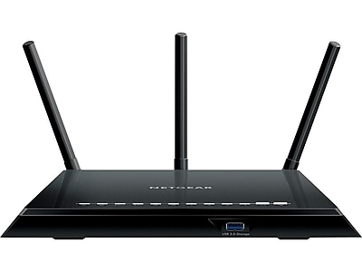 Netgear R6400-100NAS Dual Band Wireless and Ethernet Router, Black