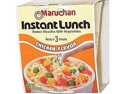 Maruchan Instant Lunch Soup, Chicken, 2.25 Oz., 12/Carton (MAR00121)