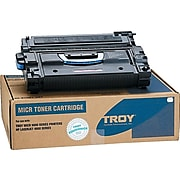 Troy Toner Secure HP 43X MICR Cartridge, Black (02-81081-001)