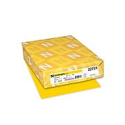 """Astrobrights Cardstock Paper, 65 lbs, 8.5"""" x 11"""", Solar Yellow, 250/Pack (22731)"""