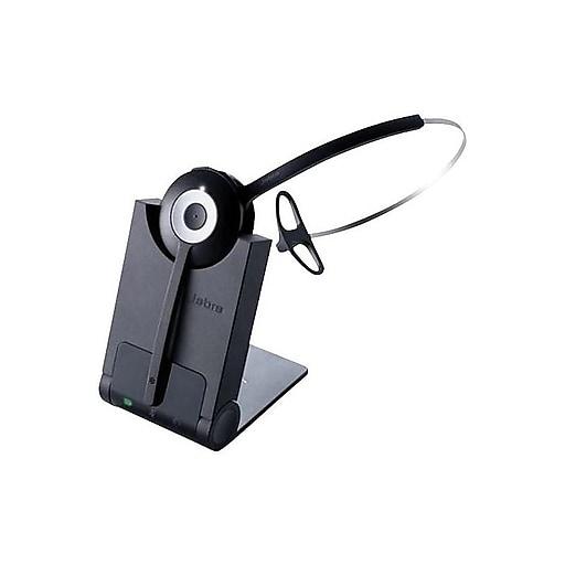 c80e36e0213 jabra Pro 920 Mono Wireless Phone Headset, Over-the-Head, Black (.  https://www.staples-3p.com/s7/is/