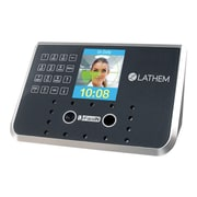 Lathem Time Face Recognition Time Clock System, Black/Silver (FR650-KIT)