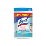 Lysol Disinfecting Wipes, Oceanic, 110/Box, 6/Carton (RAC93010CT)
