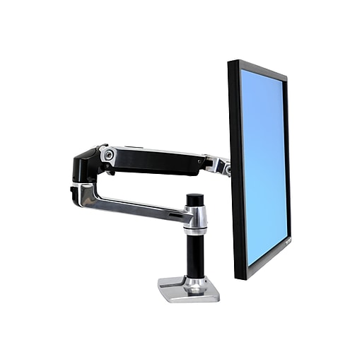Fabulous Ergotron Lx Monitor Arm For Up To 34 Screens Polished Aluminum 45 241 026 Download Free Architecture Designs Intelgarnamadebymaigaardcom