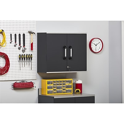 SystemBuild Boss Wall Cabinet, Steel Gray (7445059COM)