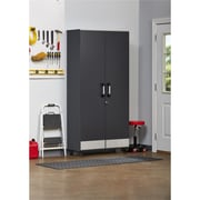 SystemBuild Boss Tall Storage Cabinet, Steel Gray (7446059COM)