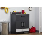 SystemBuild 2 Door and 1 Drawer Base Cabinet, Charcoal Stipple (7461315COM)