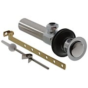 Delta Metal Drain Assembly, Chrome (RP26533)