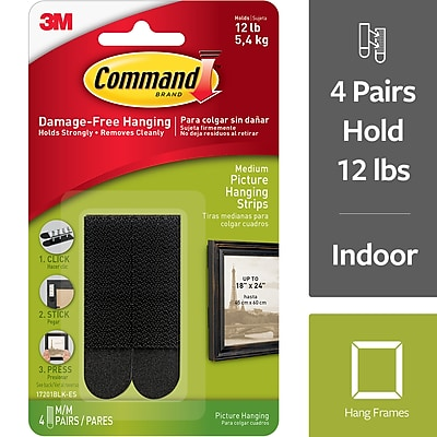 Indoor Use 17213-ES Command Picture Hanging Kit 2 Pack