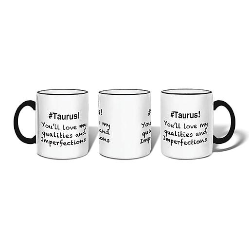 Retrospect Group #TAURUS Ceramic 11 Ounce Mug (MUG018)