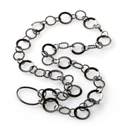 Eyexotic Jillian Eyeglass Necklace, Gunmetal