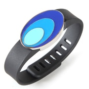 Fit & Fab Oval Fitness Tracker Slide, Blue