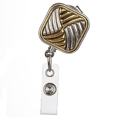BooJee Georgette Badge Reel, Gold, Silver