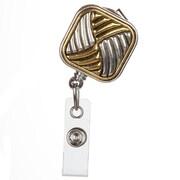 BooJee Georgette Badge Reel, Gold, Silver
