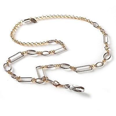 BooJee Anna Chain Lanyard, Silver, Gold