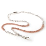 BooJee Fiona Chain Lanyard, Silver, Rose Gold