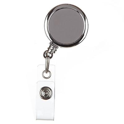ID Avenue Basic Silver Badge Reel