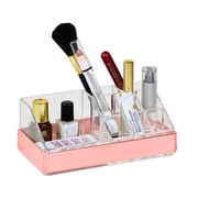 Simplify 9 Section Cosmetic and Jewelry Holder in Rose Gold