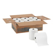 """enMotion® 8"""" Recycled Paper Towel Roll by GP PRO (Georgia-Pacific), White, 700 Feet Per Roll, 6 Rolls/Carton (89430)"""