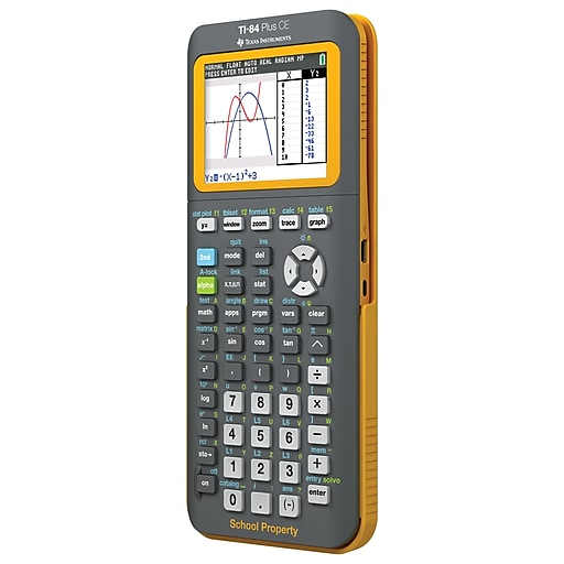 Texas Instruments TI-84 Plus CE Teacher Pack, Yellow, 10-Pack