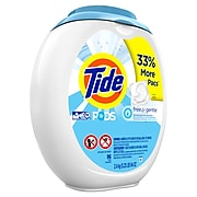 Tide PODS Free and Gentle Liquid Laundry Detergent, 96/Pack (80035)