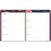 "2020 AT-A-GLANCE 8 1/2"" x 11"" Dark Romance Weekly/Monthly Soft Touch Planner (5254-905-20)"