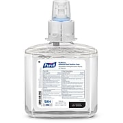 Purell Healthcare Advanced 70% Alcohol Foam Hand Sanitizer, Refill for PURELL ES6 Touch-Free Dispenser, 1200mL, 2/CT (6453-02)