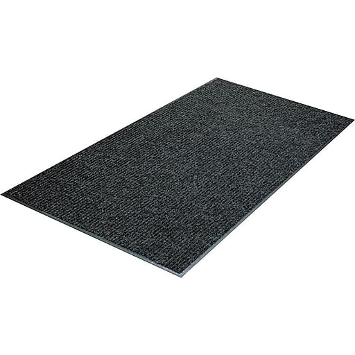 "Guardian Golden Series Floor Protection  Entrance Mat, 60"" x 36"", Charcoal (64030530)"