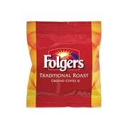 Folgers Traditional Roast Ground Coffee, Medium Roast, 42/Carton (SMU63006)