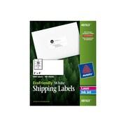 "Avery EcoFriendly Laser/Inkjet Shipping Labels, 2"" x 4"", White, 10 Labels/Sheet, 100 Sheets/Box (48163)"