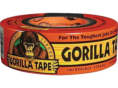 "Gorilla Tape General Purpose Duct Tape, 1.88""W x 35 Yds., Black (ADHGGT235)"