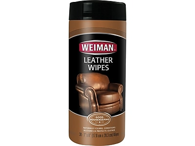 Weiman Leather Cleaner, Lemon (91-84494A-0917)