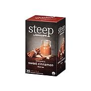 Steep Cinnamon Tea Bags, 20/Box (17712)