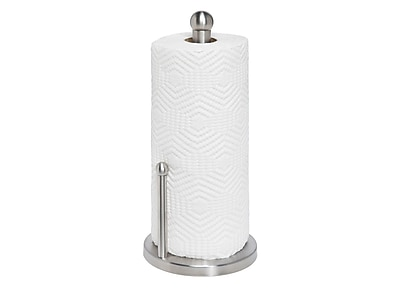 Honey-Can-Do Stainless Steel Kitchen Towel Holder, Silver (KCH-01077)