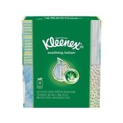 Kleenex Lotion Facial Tissue, 2-Ply, 75 Sheets/Box, 4 Boxes/Pack (25834)