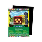 """Riverside 9""""W x 12""""L Construction Paper, Black, 50/Pack (103607)"""