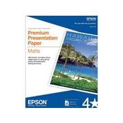 "Epson Premium Matte Presentation Paper, 8.5"" x 11"", 50/Box (S041257)"