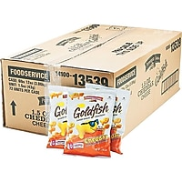 Deals on Pepperidge Farm Goldfish Crackers, Cheddar, 1.5 Oz 72/Carton