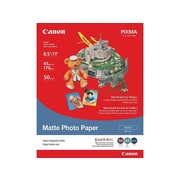 "Canon MP 101 Matte Photo Paper, 8.5"" x 11"", 50/Pack (7981A004)"