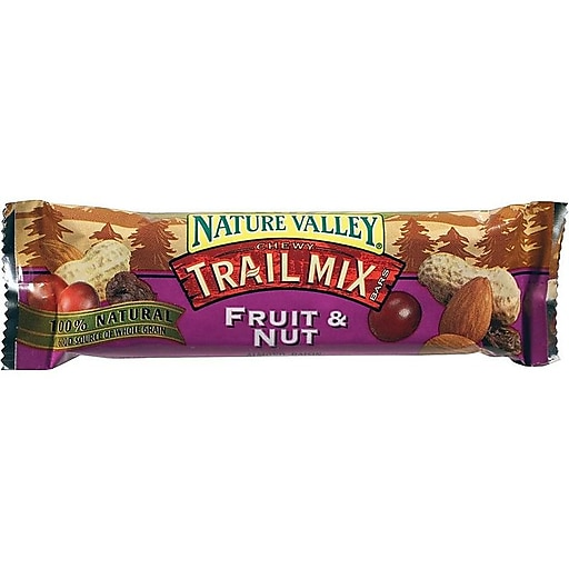 Nature Valley Chewy Trail Mix Bars, Fruit & Nut, 1.2 Oz., 16/Box (1512)