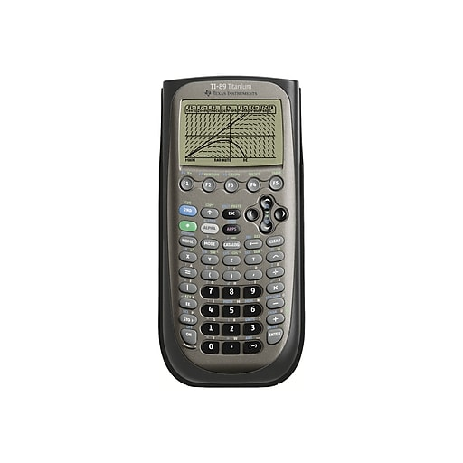 Hypermoderne Texas Instruments TI-89 Graphing Calculator, Titanium   Staples AN-33