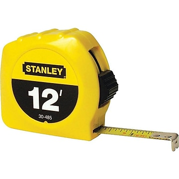 Stanley 12 ft. Tape Measure, Polymer (30-485)